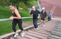 Running Stairs - Effective Fat Loss Workout